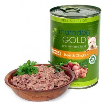 Maradog Gold Vita si Pui, 400 g