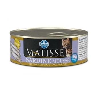 Matisse Cat Mousse Sardine conserva 85 gr