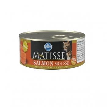 Matisse Cat Mousse cu Somon, Conserva 85 g