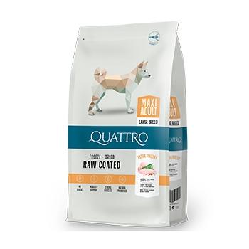 Pachet 2 x Quattro Premium Dog Maxi Adult cu Pui,12 kg imagine