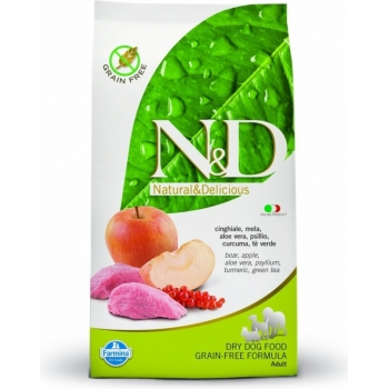 N&D Grain Free Adult Maxi, Mistret si Mar, 12 kg