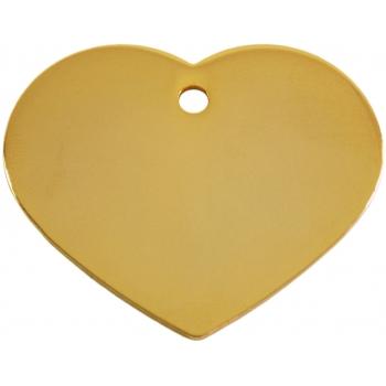 Medalion Inima Gold Large
