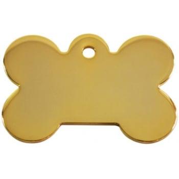 Medalion Os cu Gravare Gratuita, Gold Small