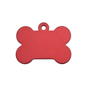 Medalion Imarc Aluminiu Os, Rosu, Masura S - Gravare Gratuita