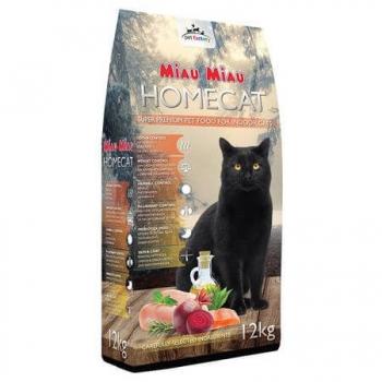 Hrana Uscata Miau-Miau Homecat, 12 Kg imagine