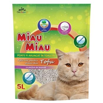Pachet Nisip Miau Miau Tofu Lavanda, 2x5 L