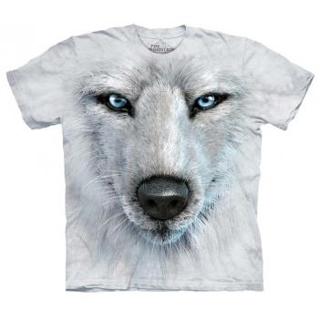 Tricou la Conserva White Wolf Face L