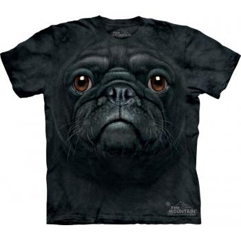 Tricou la Conserva Black Pug Face L