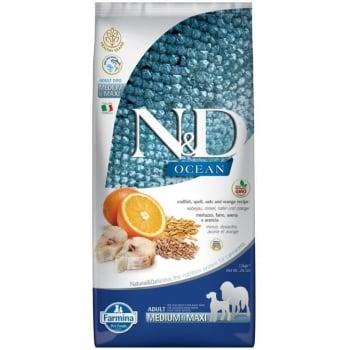 N&D Ocean Low Grain Adult Medium Maxi, 12 kg