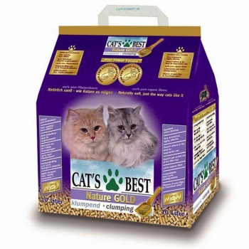 Asternut Igienic Cat's Best Natur Gold 5 litri