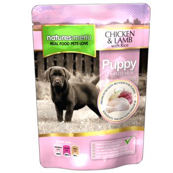 Natures Menu Puppy cu Pui si Miel 300 g