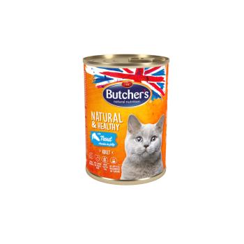 Butcher's Pisica Natural&Healthy Pastrav in Aspic, 400 g