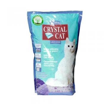 Asternut Igienic Crystal Cat Lavanda 1,75 kg