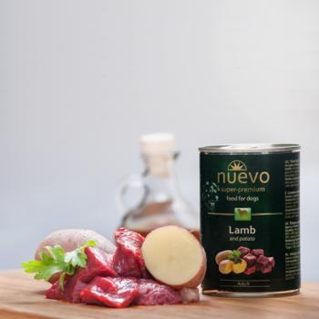Nuevo Adult Miel si Cartof 400 g