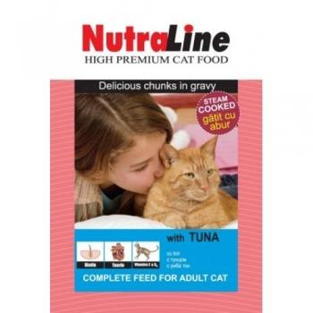 Nutraline Cat Plic Classic Ton 100 g imagine