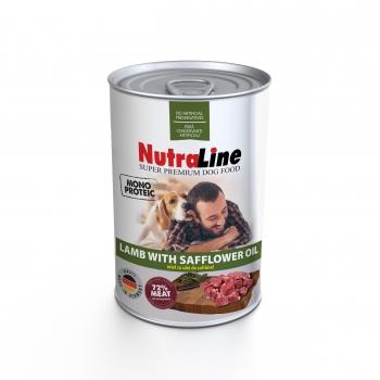 Nutraline Dog Adult Monoprotein cu Miel si Ulei de Sofranel, 400 g imagine