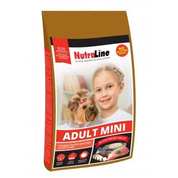 Nutraline Dog Mini Adult, 8 kg