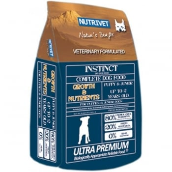 Nutrivet Instinct Growth and Nutrients  12 kg