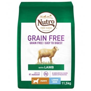 Nutro Grain Free Puppy Talie Mare Miel, 11.5 Kg