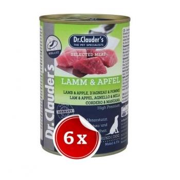 Pachet 6 Conserve Dr. Clauder's Selected Meat Miel si Mar, 400 g imagine