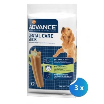 Pachet Advance Dog Dental Stick 3 x 180 g