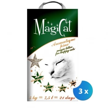 Pachet 3 x Nisip Magicat Aromatique Pin, 5 kg
