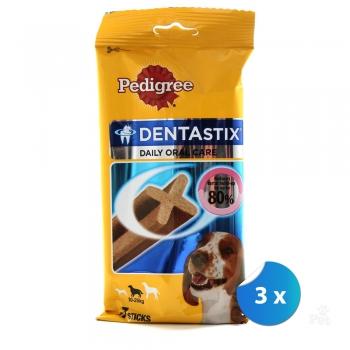 Pachet Pedigree Dentastix Caini Talie Medie x 3 bucati imagine