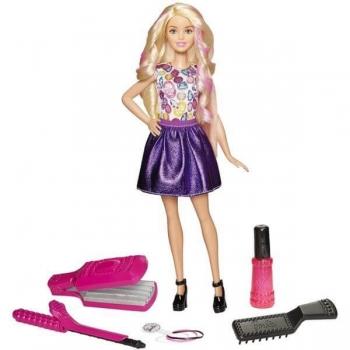 Papusa Barbie Fashionistas Cu Accesorii De Machiaj