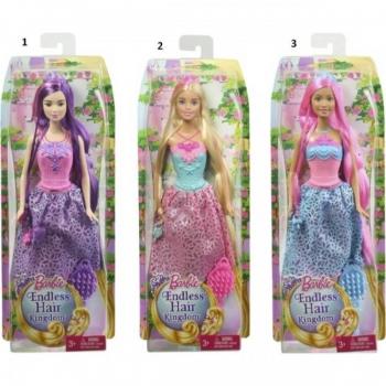 Papusa Barbie Regatul Parului Fara De Sfarsit Diverse Modele