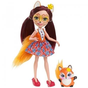 Papusa Enchantimals Felicity Fox