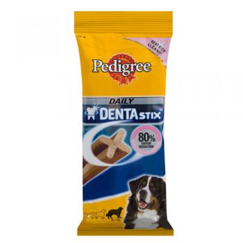 Pachet Pedigree Dentastix Caini Talie Mare 3 x 7 buc