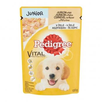 Pedigree Junior cu Pui si Orez Plic 100 g