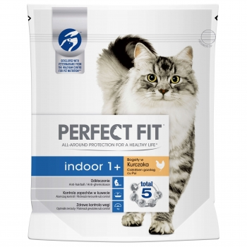 Perfect Fit Cat Indoor Cu Pui  750 G