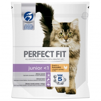 Perfect Fit Cat Junior Cu Pui  750 G