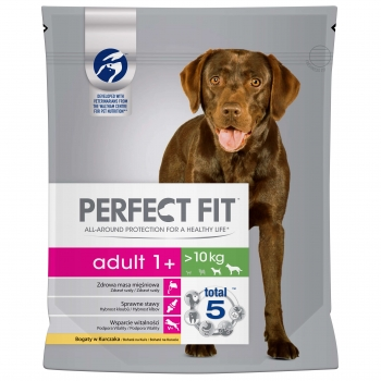 Perfect Fit Dog Adult Medium/Large cu Pui, 1.4 kg