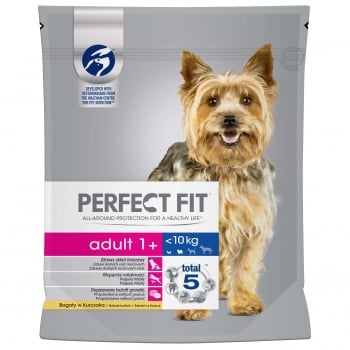 Perfect Fit Dog Adult Small Cu Pui  825 G