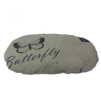 Perna Ovala Butterfly Gri (70 X 55 cm)