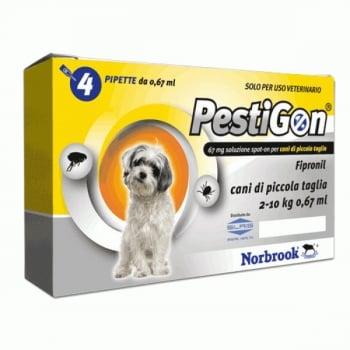Pestigon Dog S, 2-10 kg, 4 pipete imagine