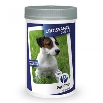 Supliment Nutritiv Pet Phos Croissance 500 tablete
