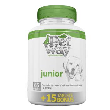 Supliment Nutritiv Petway Junior, 65 TBl +15