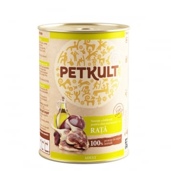 Petkult Adult Dog Rata 800 g imagine