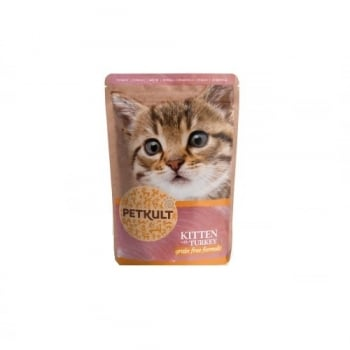 Petkult Kitten cu Curcan, 100 g imagine