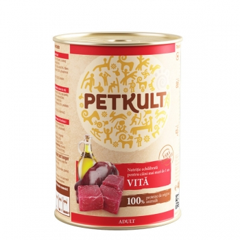 Petkult Adult Dog Vita 12x800 g imagine