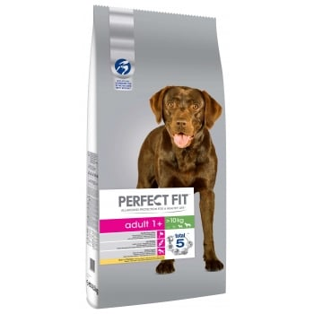 Perfect Fit Dog Adult Medium/large Cu Pui  14.5 Kg