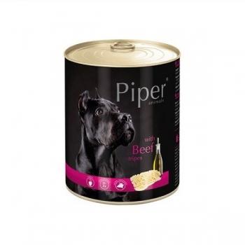 Pachet Piper Adult Dog cu Burta de Vita, 6x800 g