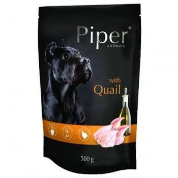 Piper Adult Dog cu Carne de Prepelita, plic 500 g
