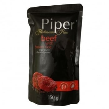 Piper Pure cu Carne de Vita si Orez Brun, 150 g