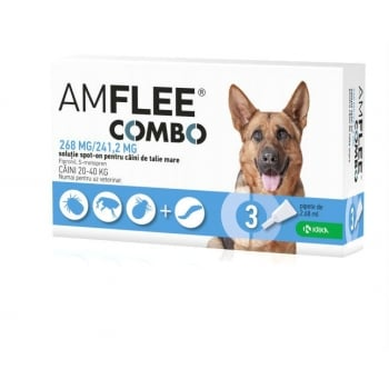 Amflee Combo Caine L (20-40 kg), 3 Bucati