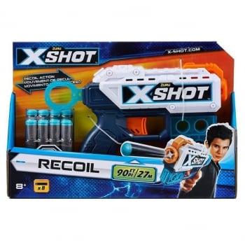 Pistol Excel Pulse X-Shot 8 Sageti