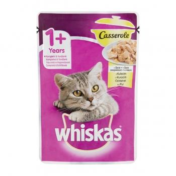 Plic Whiskas Casserole cu Pui 85 g